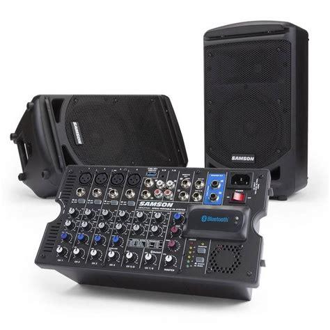 geluidssysteem in huis samson xp800 geluidssysteem