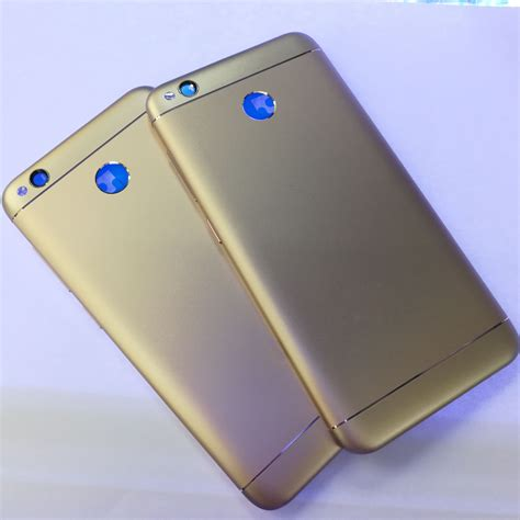 Xiaomi Redmi 4x 464 Gold New for xiaomi redmi 4x rear battery housing door cover original new black gray gold back cover