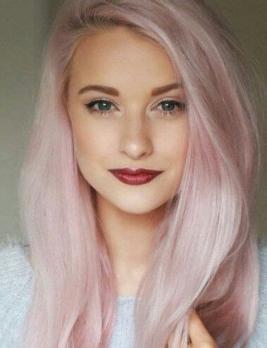 2016 pink hairstyle trendy pastel hair colors for 2017 hairstyles 2018 new