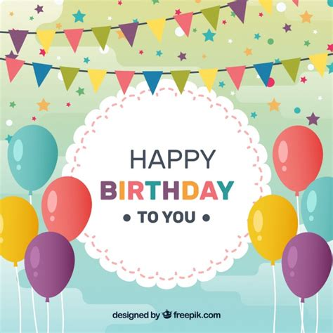 birthday card template freepik birthday background design vector free