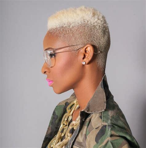 platnium hair styles for black women 50 wicked shaved hairstyles for black women hair motive