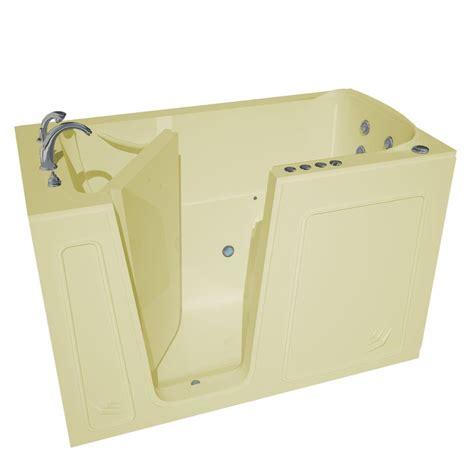 heated whirlpool bathtubs universal tubs nova heated 5 ft walk in air and whirlpool