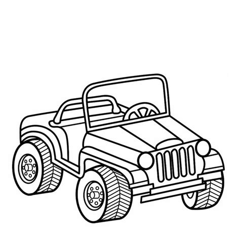 34 best jeep coloring book images on jeep