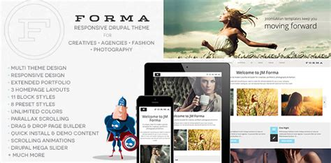 drupal theme zone 40 creative responsive drupal themes for 2016 tutorial zone