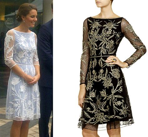 Aster Dresscoat replikate copy kate s temperley aster flower