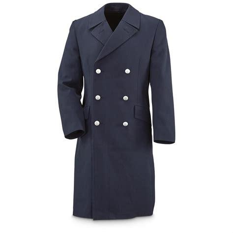 Swiss Army Topman Leather trench coat jacketin