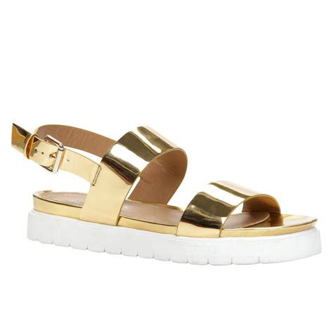 golden sandals metallic sandals the s closet
