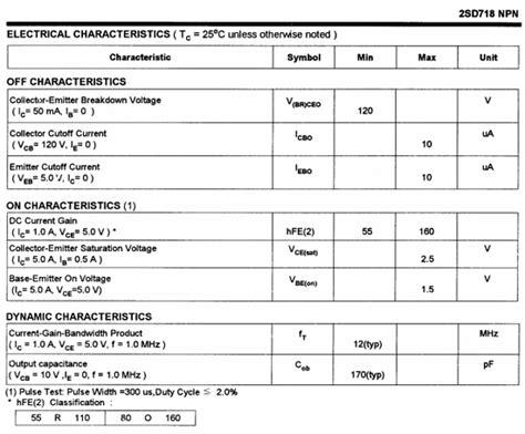 transistor d718 equivalent datasheet transistor d718 28 images d718 transistor view d718 transistor lge product details