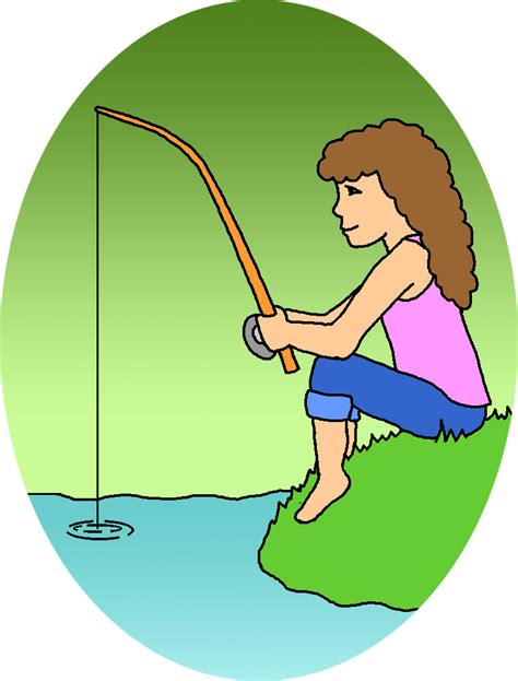 fishing clipart picnic clip color abcteach