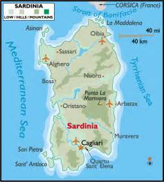 Sardinia Italy Map by Margy S Musings Sardinia Italy