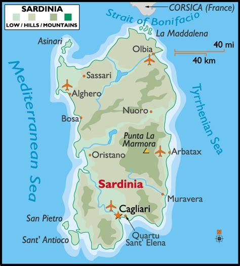 sardinia map margy s musings sardinia italy