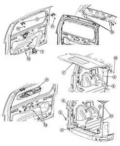 Dodge Nitro Parts List 2007 Dodge Nitro Liftgate