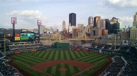 pnc park scoreboard operations  pace  red hot team