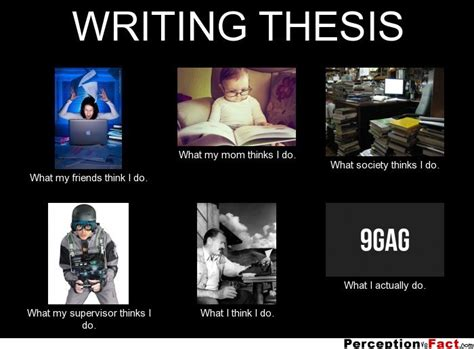 thesis organization writing thesis what people think i do