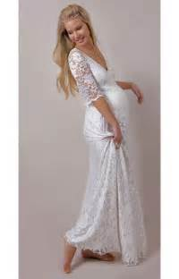 Pregnant Wedding Dresses White Orchid Lace Maternity Wedding Gown Maternity Wedding Dresses Evening Wear And Party