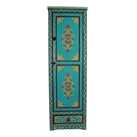 schrank 45x45 marokkanischer holz schrank qays bei ihrem orient shop