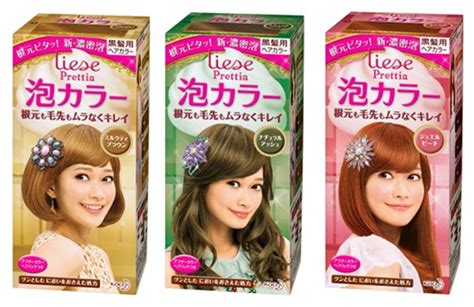 Liese Prettia Japan New Packaging Soft Brown prettia hair dye om hair