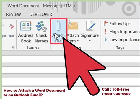 How To Attach A Word Document To