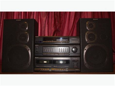 sony home stereo system city