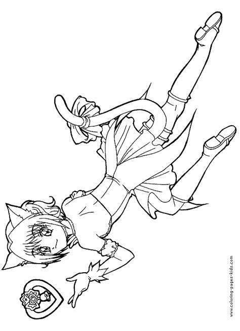 free tokyo mew mew coloring pages