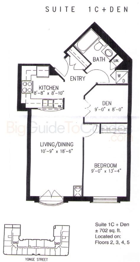 One Balmoral Floor Plan by 1 Balmoral Ave Reviews Pictures Floor Plans Amp Listings