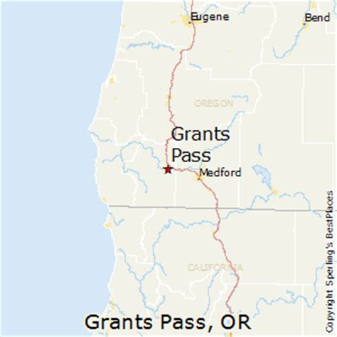 map of oregon grants pass best places to live in grants pass oregon