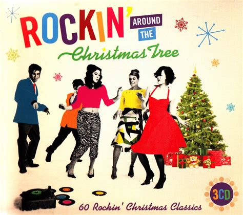artists who sang rocking around the christmas tree rockin around the tree 3 cd new best of rock n roll 50s songs ebay