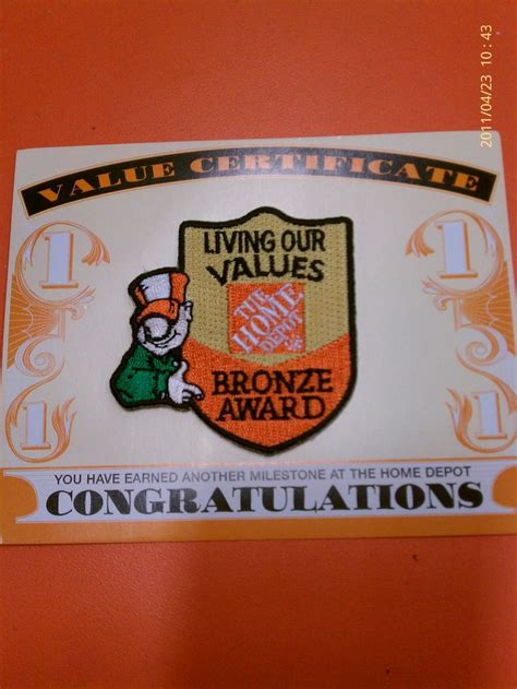 homer award home depot