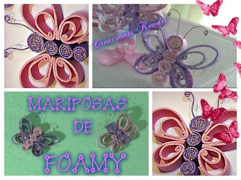 imagenes mariposas de fomi mariposas de foamy o goma eva manualidades