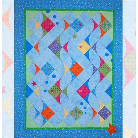 Patchwork Fish Pattern - pattern link create a quilt with easy piecing