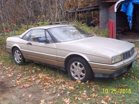 Cadillac Allante Parts by Cadillac Allante Convertible 1990 Chagne For Sale