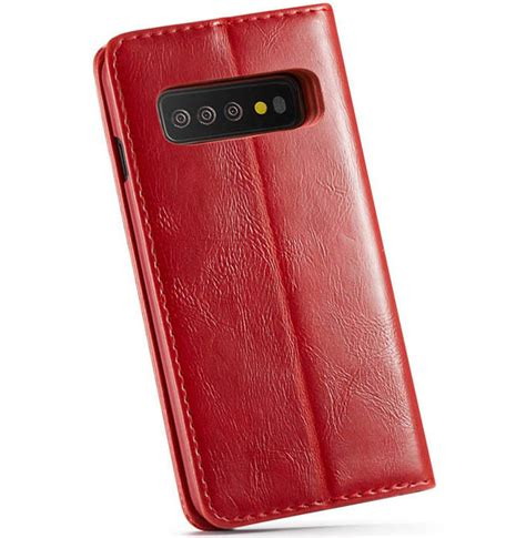 Samsung Galaxy S10 Wallet by Caseme Samsung Galaxy S10 Plus Wallet Magnetic Stand