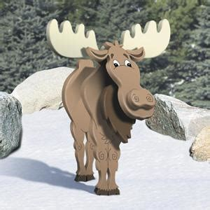 general plans sc layered moose woodworking plans