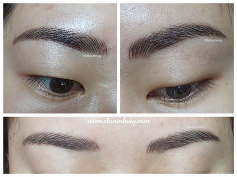 best eyebrow tattoo in singapore 3d eyebrow embroidery review perfect brow house celine