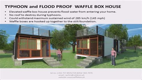 Floor Plan Of Modern House wafflebox house
