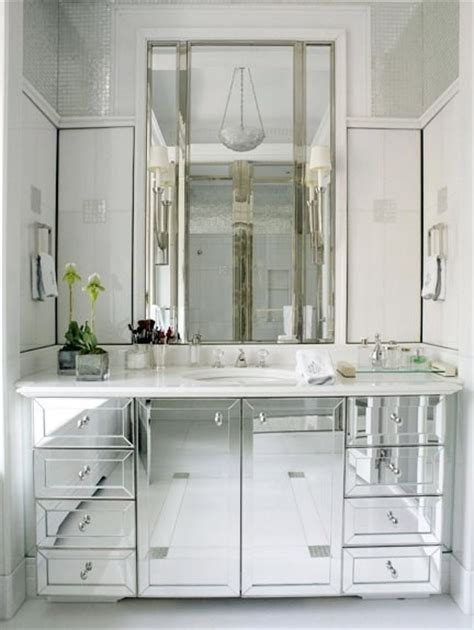 mirrored bathroom vanities to da loos lusting for mirrored vanities part 1