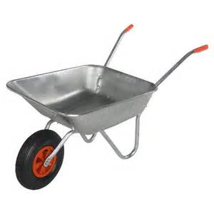 schubkarre garten bristol diy garden wheelbarrow light work metal 80kg