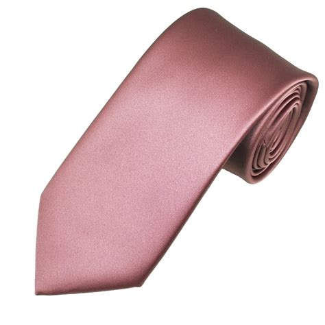 plain mauve pink s satin tie from ties planet uk