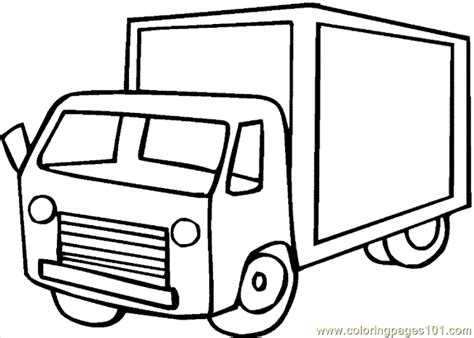 coloring book pages truck truck coloring page 08 coloring page free land transport