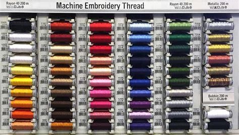 thread color chart gutermann embroidery thread color chart embroidery