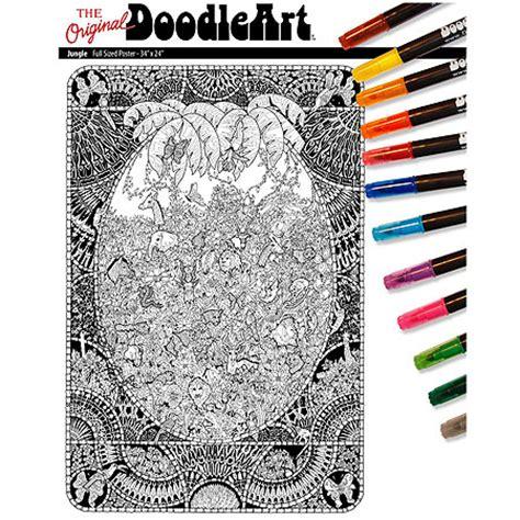 doodle jungle the original doodleart jungle