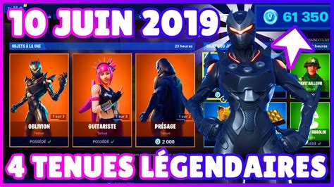 boutique fortnite daujourdhui  juin  youtube