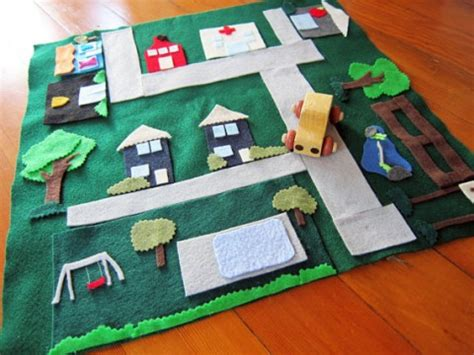 Handmade Playmat - play mat
