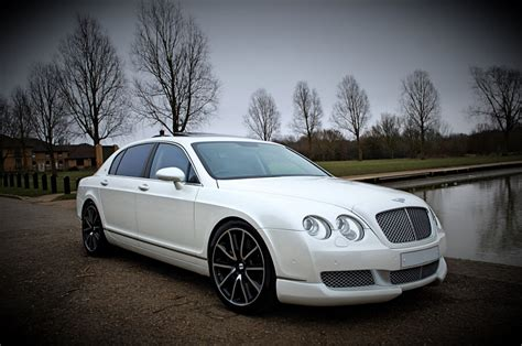 white bentley sedan prom car hire luxury prom and limo hire
