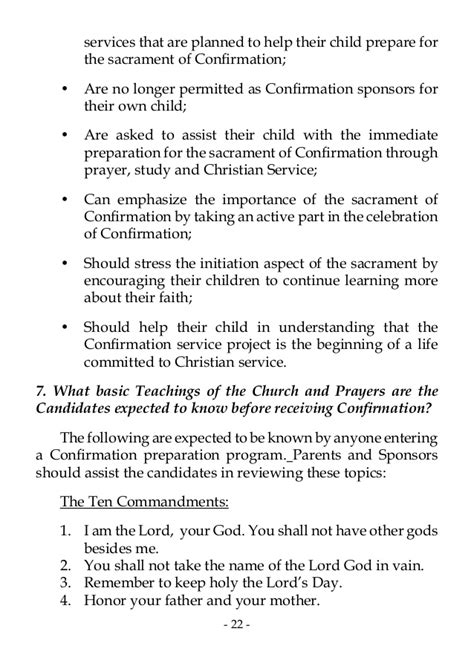 Confirmation Letter Meaning In Sacrament Of Confirmation