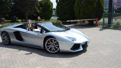 Lamborghini Aventador Start Up Lamborghini Aventador Roadster Start Up