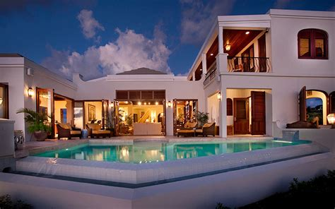 luxe island views villa in the caribbean