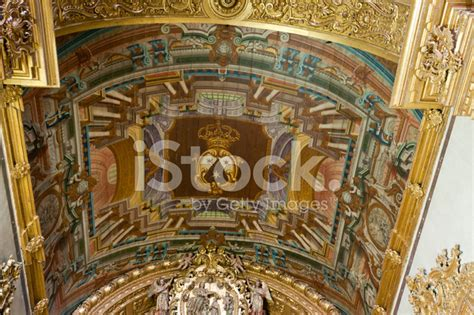 Cathedral Ceiling Painting by Ceiling Painting In The Cathedral Stock Photos