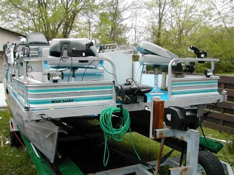pontoon boat manufacturers elkhart indiana used pontoon boats restored by pontoonstuff inc