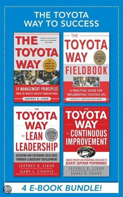 Toyota Way Ebook Bol The Toyota Way To Success Ebook Bundle Ebook
